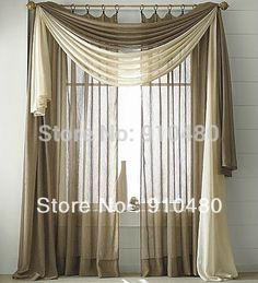 Wonderful Luxury Sheer Cafe Curtains Scarf Valance Curtains Valance . Living Room ... Part 26