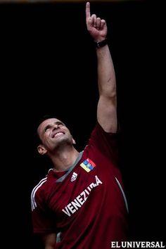 Capriles Radonski, candidato a las elecciones presidenciales de Venezuela.