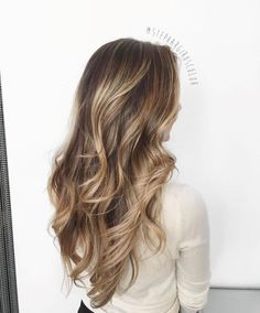 Brown Hair With Blonde Balayage, Fall Blonde Hair Color, Balayage Long Hair, Balayage Brunette, Hair Color Balayage, Hair Highlights, Ombre Hair, Bayalage, Light Brunette Hair