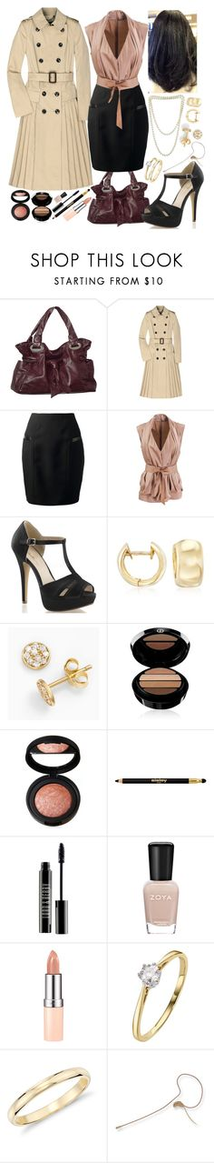 """""""sadie - next to normal (diana - who's crazy/my psychopharmacologist and i)"""" by kinathegreat ❤ liked on Polyvore featuring Burberry, Yves Saint Laurent, STELLA McCARTNEY, Roberto Coin, SOPHIE MILLER, Armani Beauty, Laura Geller, Sisley Paris, Lord & Berry and Zoya"""