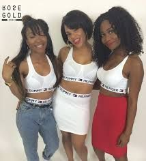 225637262e88b0 Tommy Hilfiger outfits Tommy Hilfiger Crop Top