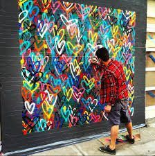 This is kind of neat. Start a heart mural...invite children and families to add a heart.