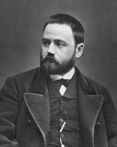 Emile Zola as a young man.