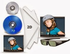 Entertainment-Sky: Convert 2D Blu-ray movies for enjoying on 3D TV