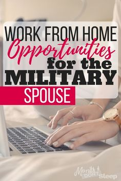 Did you know that legit work from home jobs actually exist? Here's how military spouses can start making an income from home (or anywhere! Military Spouse Jobs, Military Relationships, Military Deployment, Military Love, Deployment Quotes, Military Service, Legit Work From Home, Work From Home Jobs, Work From Home Opportunities
