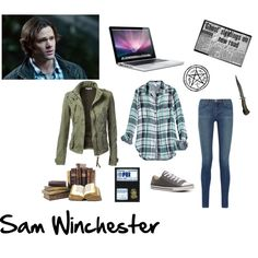 """""""Sam Winchester"""" by morgan-graves on Polyvore"""