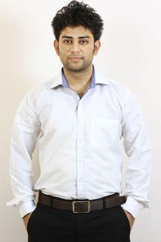 2c96ea4fb75 Buy White Stripes Formal Shirt For Men Online in India