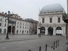 Piazza Loggia - one of the main squares.