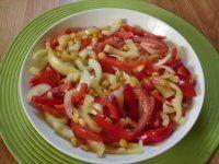 Pestrý paprikový salát -DEKUJI RECEPTY.CZ
