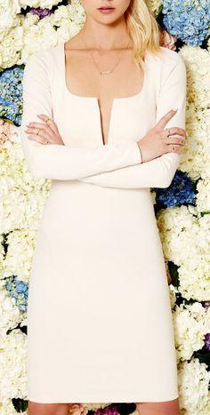 LULUS Exclusive Chic and Loving It Pale Blush Midi Dress