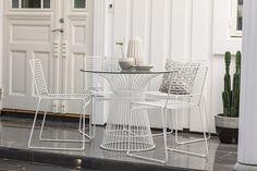 Rib spisebord- og stoler