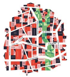 Saved by Romualdo Faura (rfaura). Discover more of the best Illustration, Romualdo, Faura, Editorial, and Illustrations inspiration on Designspiration Gravure Illustration, City Illustration, City Poster, Map Projects, Map Design, Art Graphique, City Maps, Graphic Design Inspiration, Design Ideas