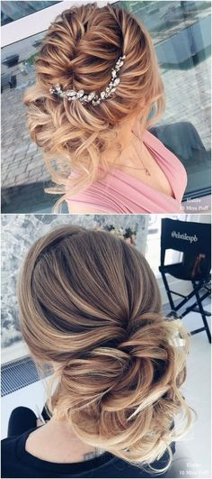 45 Most Romantic Wedding Hairstyles For Long Hair #hairstyles #weddings #weddinghairstyles