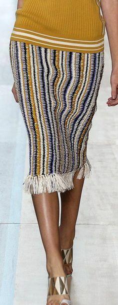 Stricken im Missoni-Stil, Streifen, Patchwork-Sommer - юбки Crochet Dress Outfits, Crochet Summer Dresses, Black Crochet Dress, Crochet Skirts, Knit Skirt, Crochet Clothes, Dress Summer, Dress Skirt, Skirt Outfits