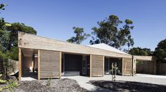 A compact, living and breathing house. A central living zone connected to a large north-facing verandah. Blur the line between a courtyard house and a tradit...