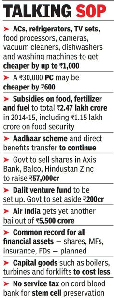 Budget 2014: Ahead of elections, Chidambaram romances BJP base - The Times of India