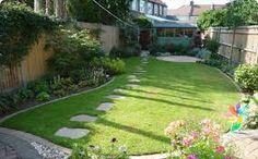 Резултат слика за designs for triangular gardens