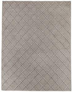 Diamante Flatweave Linen Rug