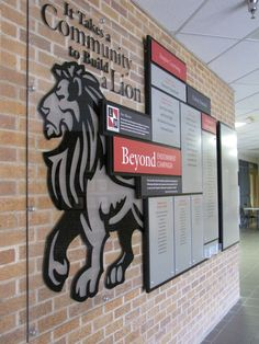Linn-Mar School Foundation Donor Recognition Wall