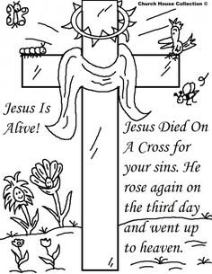 Free Christian Coloring Pages Printable