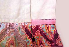 Cute ruffle edge tea towels I want to make