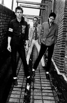 The Clash 1977 #TheClash #punk #rock