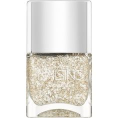 Nails inc Whitechapel Snowflake Collection Top Coat/0.47 oz. ($15) ❤ liked on Polyvore featuring beauty products, nail care, nail polish, nails, beauty, cosmetics, apparel & accessories, no color, glitter nail polish y sparkle nail polish