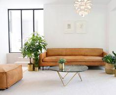 Cognac Ledersofa - Vintage Couch aus Leder - 220cm - NEU in Innenstadt - Köln Altstadt | eBay Kleinanzeigen