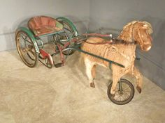 Child's Pony Pedal Cart