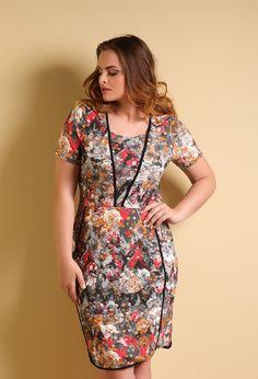 Vestido Fascinio Plus Size