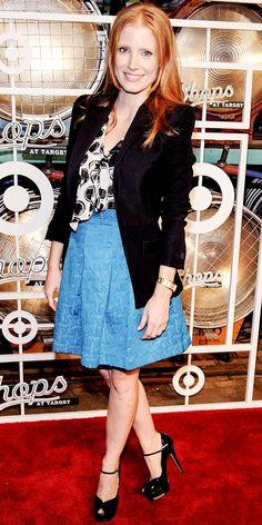 Jessica Chastain in Kirna Zabéte for Target