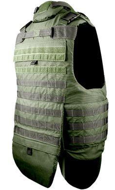 U.S. Armor | SOV - Special Operations Vest (Back) | Custom Fit Body Armor | You'll Wear It! | www.usarmor.com