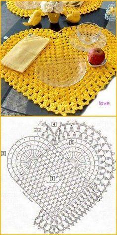 Crochet Potholder Patterns, Doily Patterns, Crochet Squares, Crochet Motif, Crochet Stitches, Knit Crochet, Sewing Patterns, Easy Crochet, Knitting Projects
