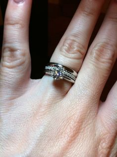 I Adore The Look Of Stacked Wedding Bands And Rings Hubby Knows D Like A Third One For Our First Anniversary Ahem Spoil