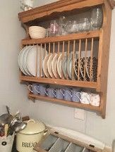 Image result for Wooden Wall Mounted Plate Rack & Nice Wooden Plate Rack Wall Mounted | craftmen house | Pinterest ...