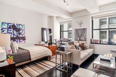 15 Gorgeous NYC Apartments For Under $1 Million #refinery29  http://www.refinery29.com/budget-nyc-apartments-for-sale-under-one-million#slide19  Location: 20 Pine Street (at Nassau Street), #1609Price: $770,000