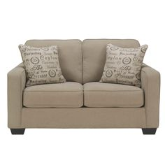 Signature Design by Ashley Alenya Quartz Loveseat - Overstock™ Shopping - Great Deals on Signature Design by Ashley Sofas & Loveseats