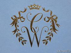 Prince William & Kate's Royal Monogram