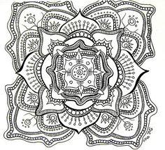 Mandela Art Templates | Making mandala art is healing, transformative, and addicting – just ...