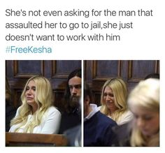 "The judge ruled that, despite the evidence of being drugged and raped and abused by her producer, Sony had invested a substantial amount of money in Kesha's career and that not allowing her to break the contract was ""the commercially reasonable thing"" Profits Before People. That's all Sony or any capitalist cares about. Even the judge cares more about Sony's monetary interests than a woman's safe work environment. #FreeKesha"
