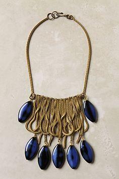 Chain and bead bib necklace Jewelry Box, Jewelry Accessories, Fashion Accessories, Jewelry Necklaces, Fashion Jewelry, Jewelry Design, Jewelry Making, Diamond Necklaces, Diamond Pendant