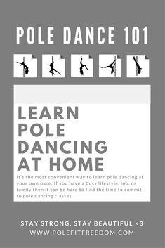Learn Pole Dancing At Home - Pole Fitness Inspiration, #PoleDancing #PoleFitness