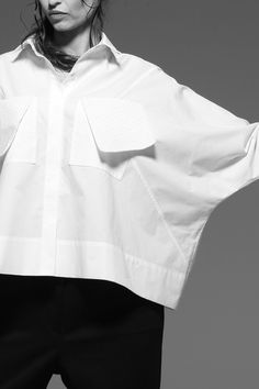 Check out our gorgeous range of white shirts Modest Fashion, Hijab Fashion, Fashion Outfits, Womens Fashion, Blouse Styles, Blouse Designs, Classic White Shirt, Fashion Details, Fashion Design