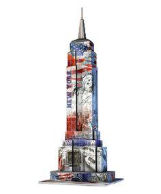 Look at this #zulilyfind! Flag Empire State Building 3-D Puzzle #zulilyfinds