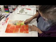 Jane Davies Studio  - here is a really short video of making patterns.  I like to overlap patterns, use patterns of different scale, density, different colors, and varying amounts of contrast with the ground.