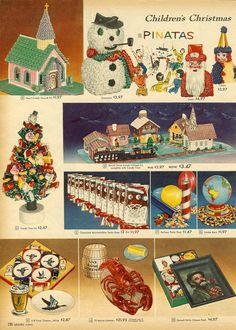 1958 sears christmas catalog ad christmas kitchy kitchmas holiday - Sears Christmas Decorations