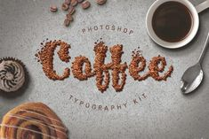 Ad: Food Typography PSD Actions by Designdell on Introducing 'Food Typography Kit' for Photoshop A set of 6 delicious photoshop actions to make any font look good enough to eat! Food Typography, Typography Letters, Lettering, Flat Lay Photography, Product Photography, Brush Font, Food Website, Good Enough To Eat, Salsa Recipe