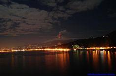 Taormina : Etna Volcano eruption 8 feb 2012 #etna #vulcano #sicilia #sicily