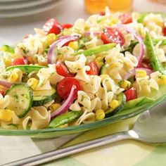 Use fresh or dried dill weed in this colorful pasta salad, that is perfect for a summer picnic or spring luncheon.