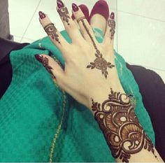 Mehendi Designs - Bridal Arabic Mehendi Design | WedMeGood #mehendi #wedmegood